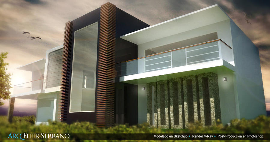 casa minimalista by ekoartz on deviantart