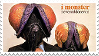 I monster stamp by inkedspace