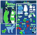 Aneryians (species ref) by heartsickdreams