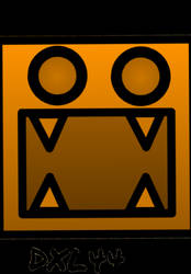 Geometry Dash Icon Art: Me.