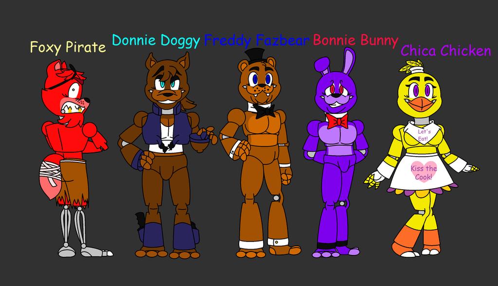 Freddy And Friends By FNAFmanagerDonnie On DeviantArt