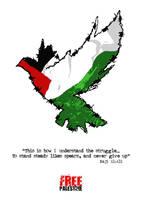Free Palestine: poster II by AutaAutistik