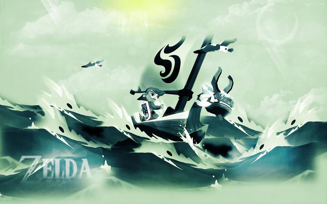 Zelda Wallpaper By JyakuDesigns