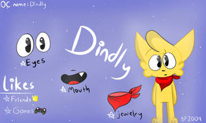 My New OC : Dindly by BaldiFangirl2004