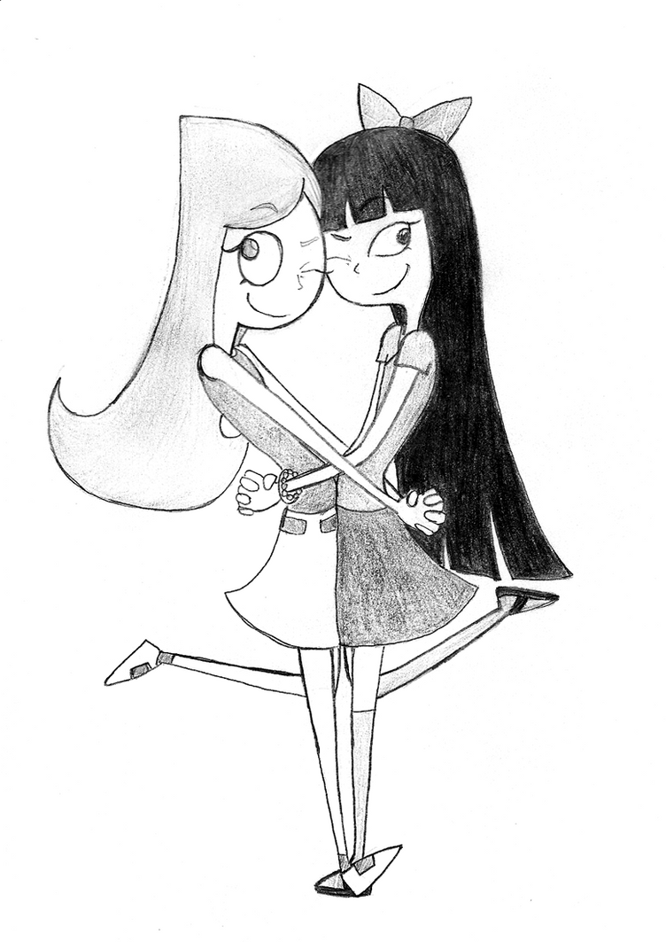 PnF: Candace and Stacy by THAT-Technique
