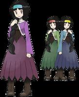 TRAINER: Hippie Girl Artwork by PokemonScarletVersio