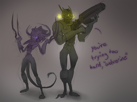 Wildstar Poses by Ahrjey