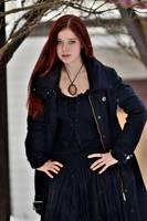 Redhead girl 2 by Ajsena