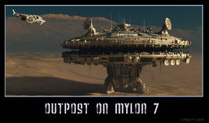 Outpost on Mylon 7 by thd777