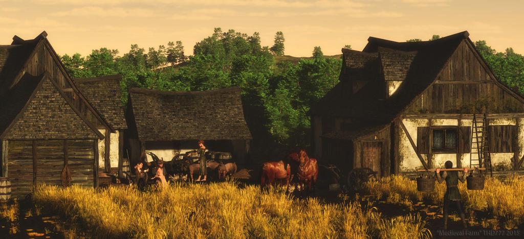 Medieval Farm by thd777