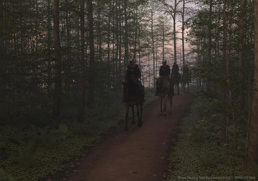 Dawn Patrol at Teutoburg Forrest 9 A.D.