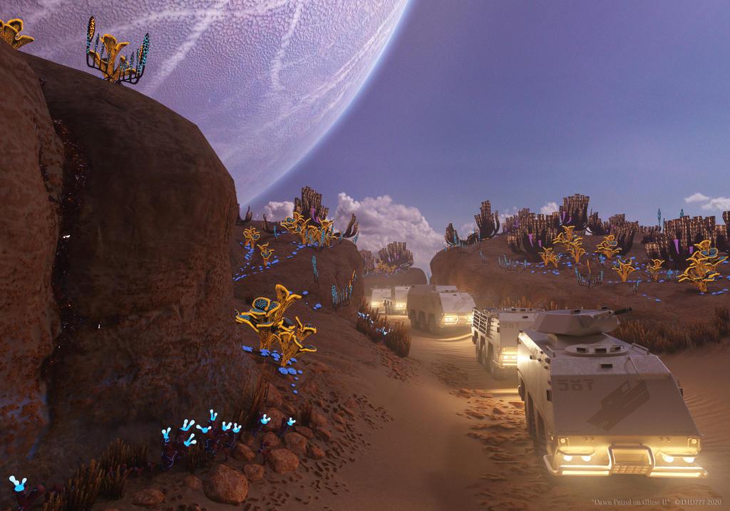 Dawn Patrol on Gliese II