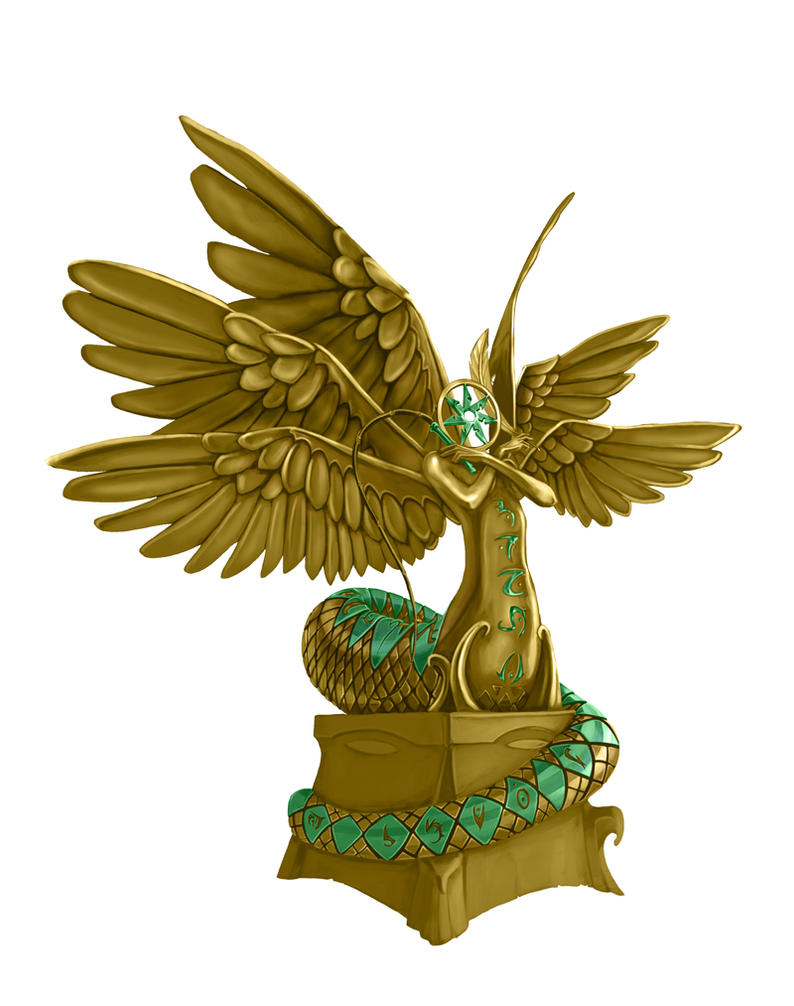 Lissala Statue by ilkerserdar