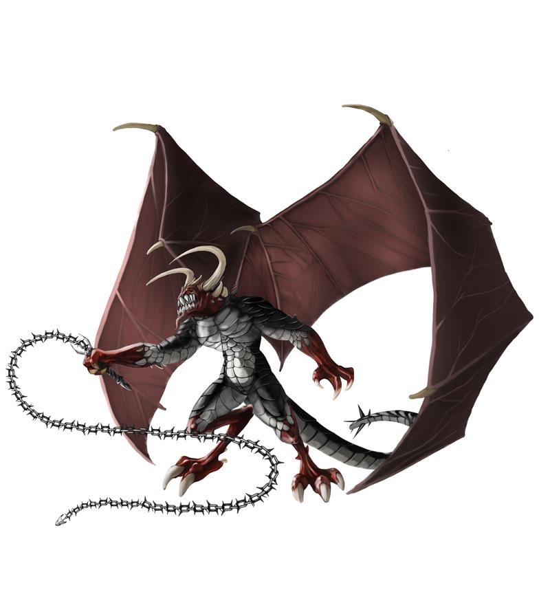 Cornugon Horned Devil by ilkerserdar