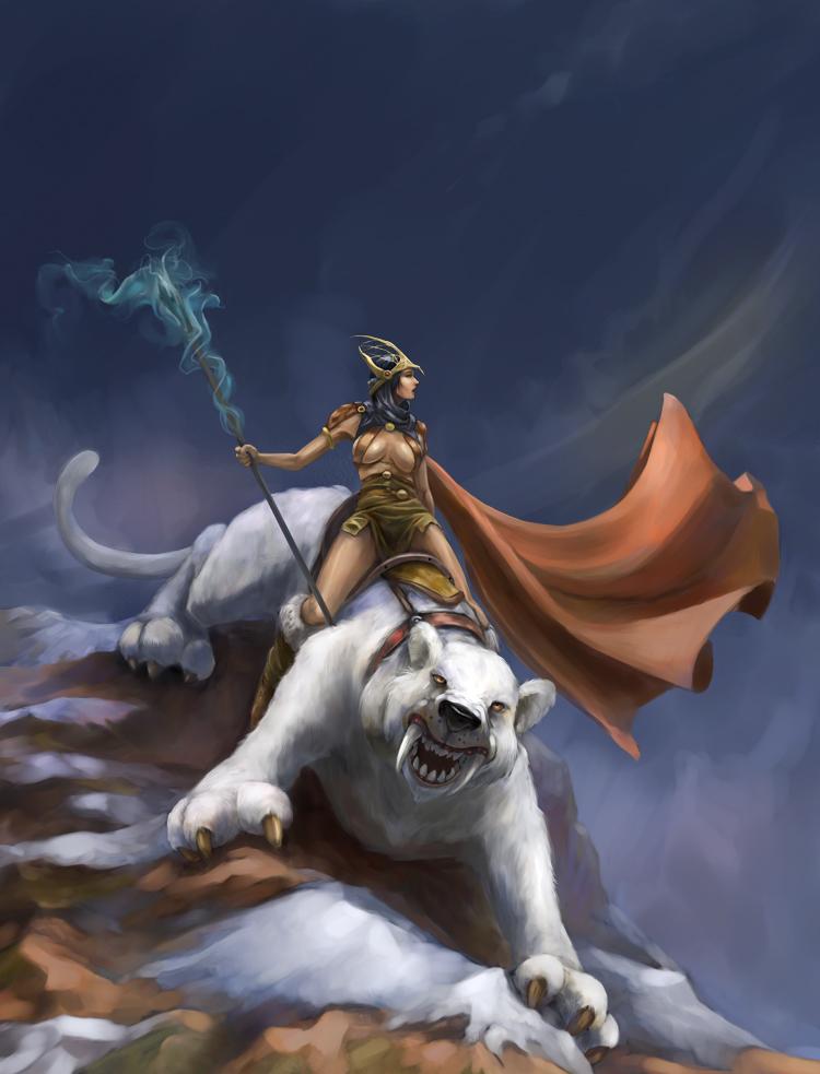 Arctic Princess by ilkerserdar