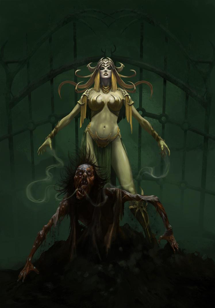 Necromancer by ilkerserdar