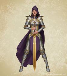 Golden Legionnaire by ilkerserdar