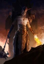 Fire Revenant by ilkerserdar
