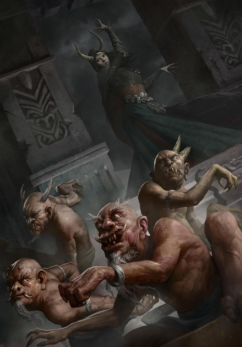 Demons by ilkerserdar