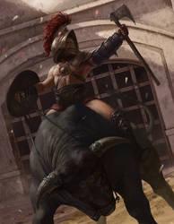 Gladiator by ilkerserdar