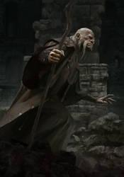 Old Man by ilkerserdar