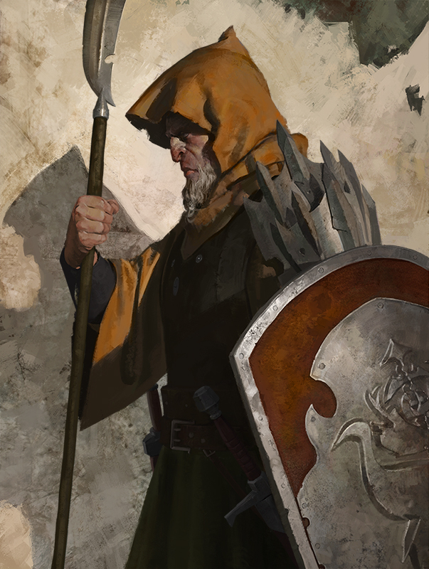 A guard by ilkerserdar