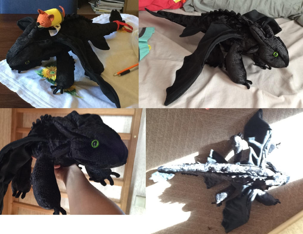 Toothless plush by Meylow
