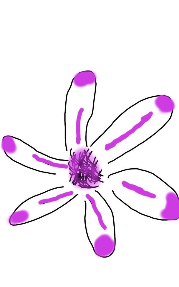 MACRO SKETCHING: FLOWER PETALS by GabRodriguez29