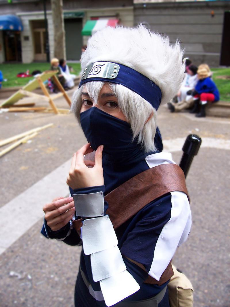Kid kakashi cosplay