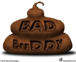 Bad Buddy Comic Logo by vannickArtz