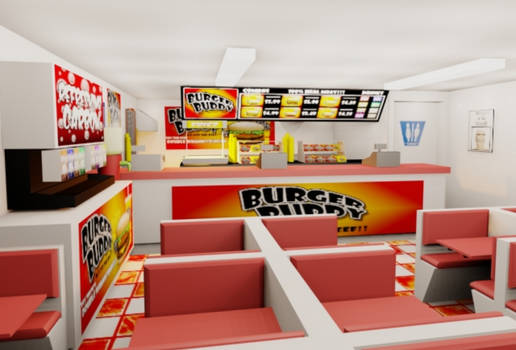 Burger Buddy Fast Food Design