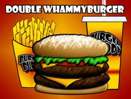 Burger Buddy Fast Food Menu by vannickArtz