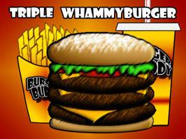 Burger Buddy Fast Food Menu2 by vannickArtz