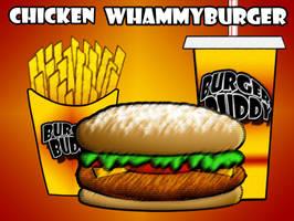 Burger Buddy Fast Food Menu3 by vannickArtz