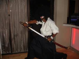 Me as Afro Samurai1 by vannickArtz