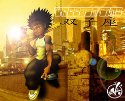 Photoshop Fun: Freedom City by vannickArtz