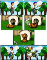 Bad Buddy Comics - Paperboy by vannickArtz