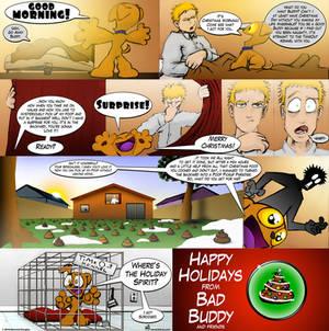 Bad Buddy Comics - Christmas
