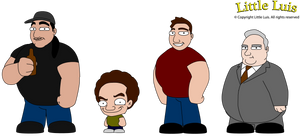 Little Luis Characters 1