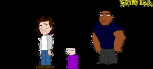 Little Luis Characters 4 by vannickArtz