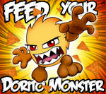 Feed your Dorito Monster