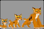 Wild Cat Vector