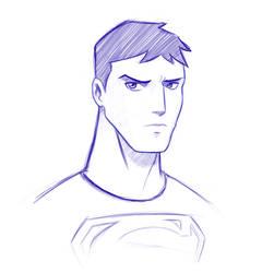 Superboy sketch