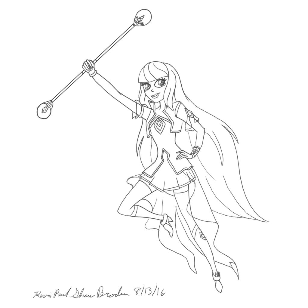 Lolirock Talia Coloring Coloring Coloring Pages