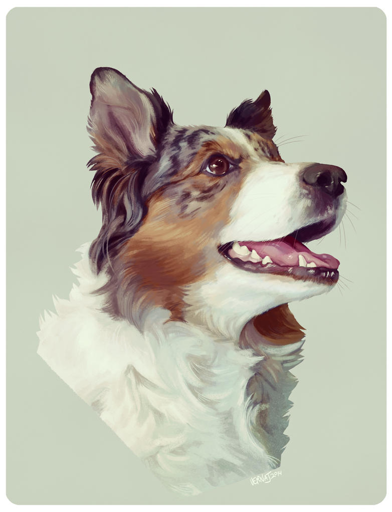 Portrait of Benja by vern-argh