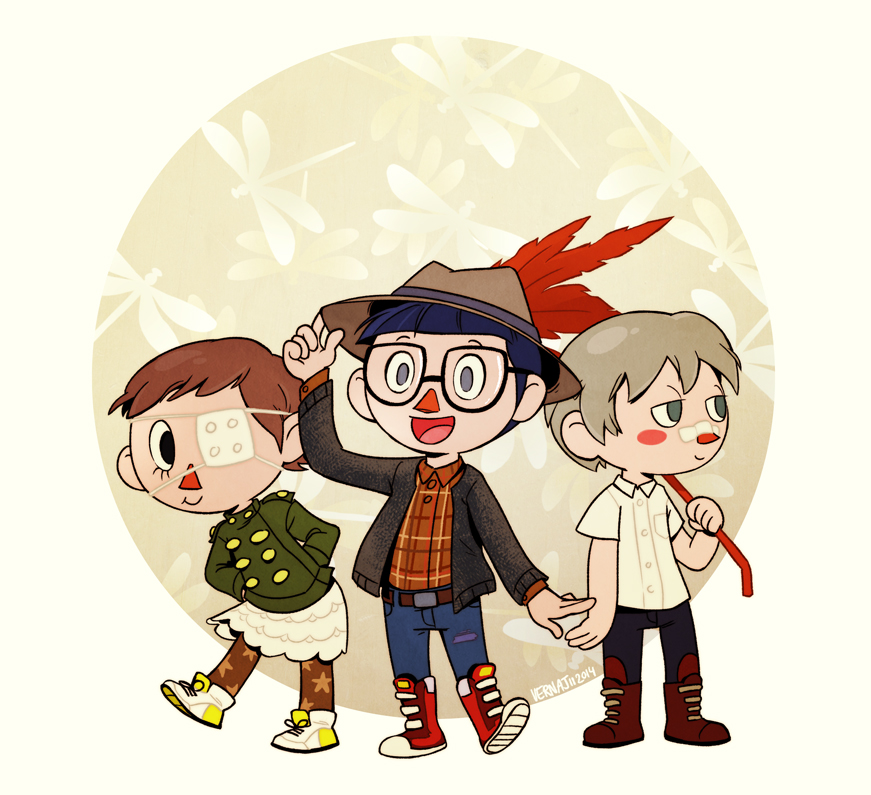My Animal Crossing Humans By Vern Argh On Deviantart