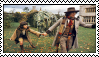 4th doctor and sarah jane stamp by tiredbtw