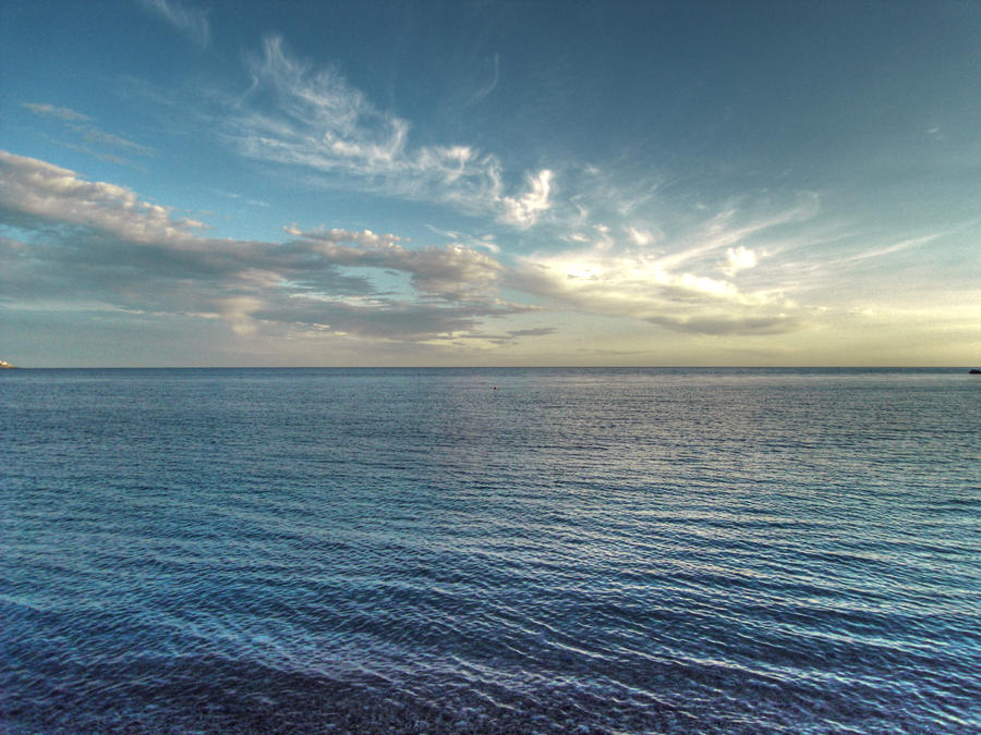 sea and sky by jovanr on deviantart
