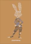 Judy Hopps - Typography Poster