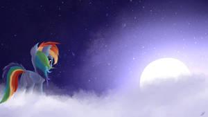 Peaceful night - 16x9